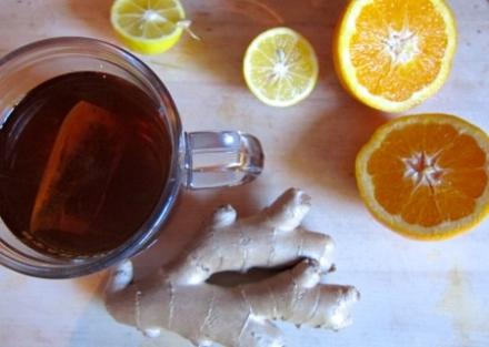 {cold-buster orange ginger juice}