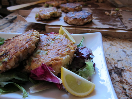 {Pegah's tuna patties}