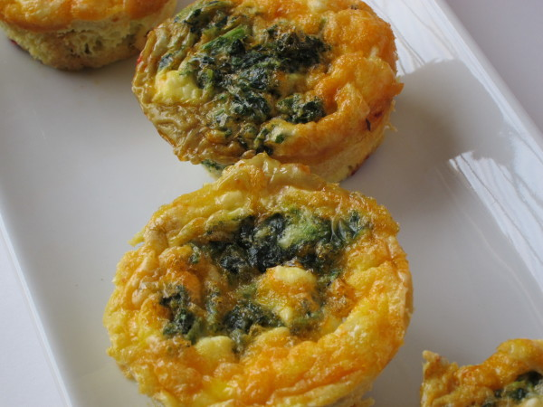 sun dried tomato kale mini quiche