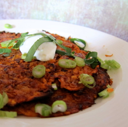 {paleo sweet potato hash browns}