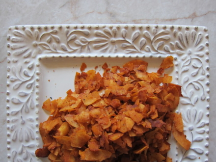 {coconut bacon}