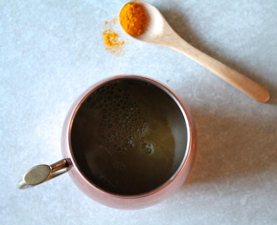 golden milk hot chocolate