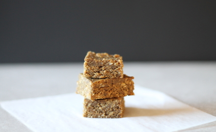 {peanut butter protein squares}