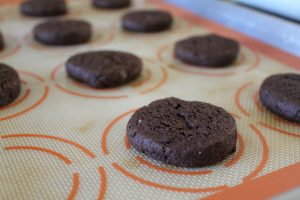 chocolate peanut butter sandwich cookie