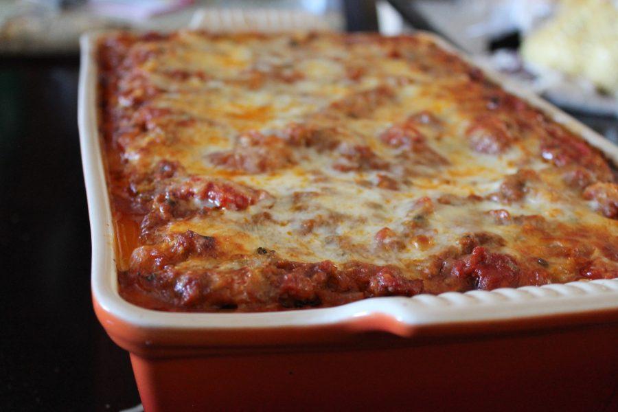 rustic weeknight lasagna1